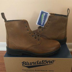Blundstone Lace-Up Brown Leather Boots. Size: 9
